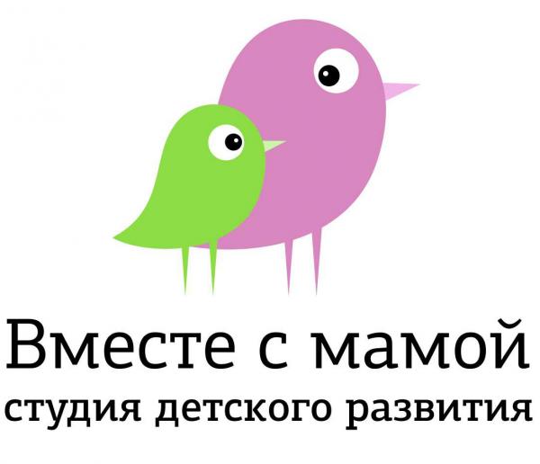 Логотип компании Вместе с мамой